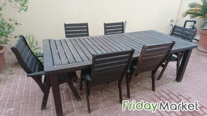 Garden Table And Chairs For Sale In Qatar Fridaymarket