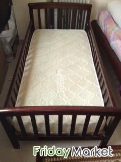 Juniors Baby Crib With Matress In Qatar Fridaymarket