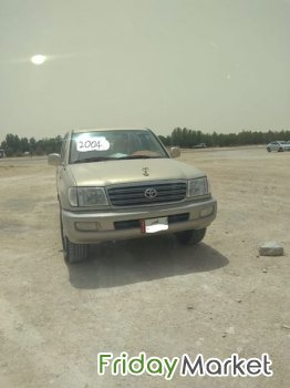 Good condition Land Cruiser 2004 VXR V8 For Sale, Serious Buyers