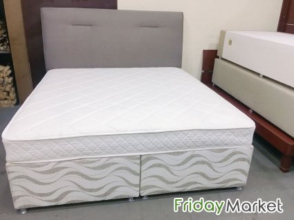 Hotel Bed With Mattress Only 1 Month Used Still Have New In Qatar