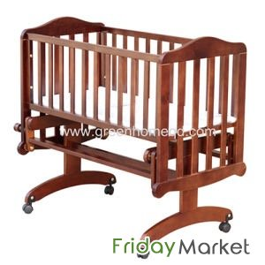 Wooden Baby Crib And Change Table Juniors In Qatar Fridaymarket