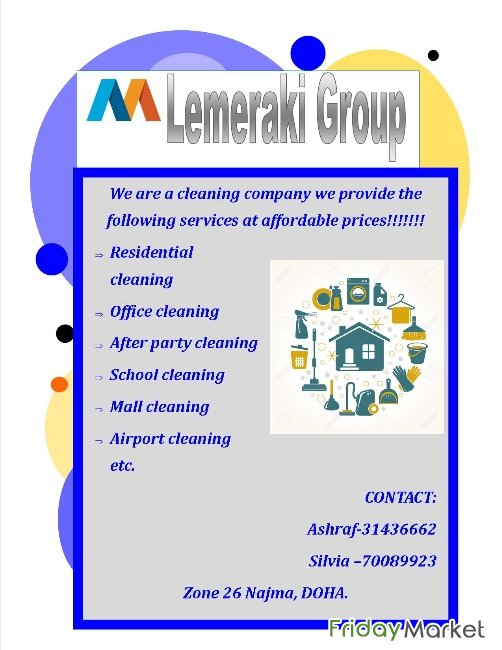 CLEANING SERVICES Doha Qatar