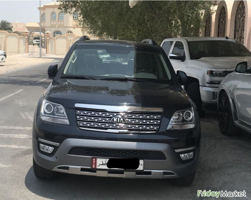 The Kia Mohave 2018 3.8L 4 WD 5 Speed 7 Seater For Sale Doha Qatar