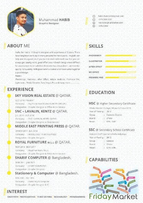 I Looking For Graphic Design Job ( Have 5 Year Experience In Qatar ) Doha Qatar