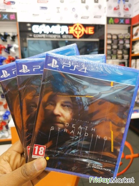 PS4 NEW GAME DEATH STRANDING AVAILABLE AT GAMERZONE QATAR Doha Qatar