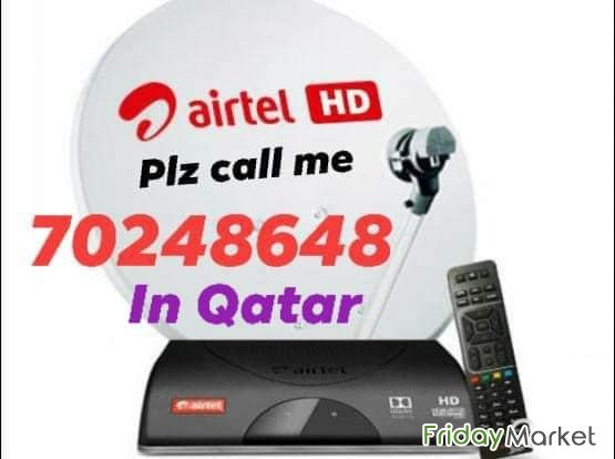 Satellite Dish Tv Installation And Sale Pls Call Me ☎️70248648 Doha Qatar