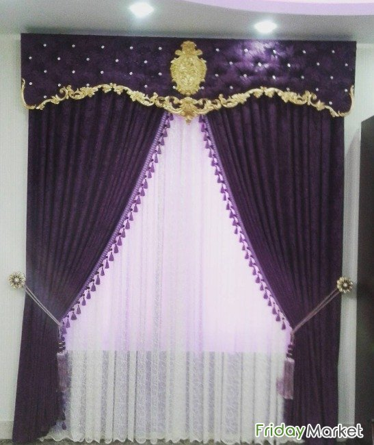 Curtain Shop - We Make All Kinds Of New Curtain With Fixing : 30359717 Al Wakrah Qatar