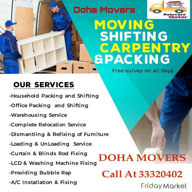 House Shifting In Doha House Shifting Moving Qatar Doha Qatar