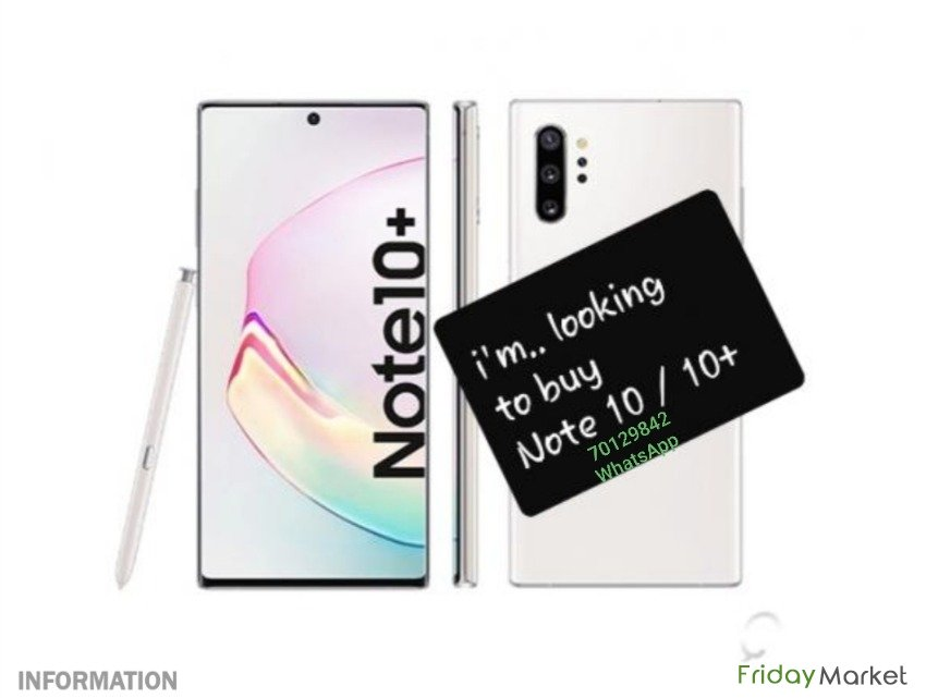 I'm Looking To Buy Note 10plus Or Note10 Doha Qatar